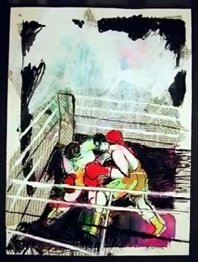 Boxeo bíblico en espiral